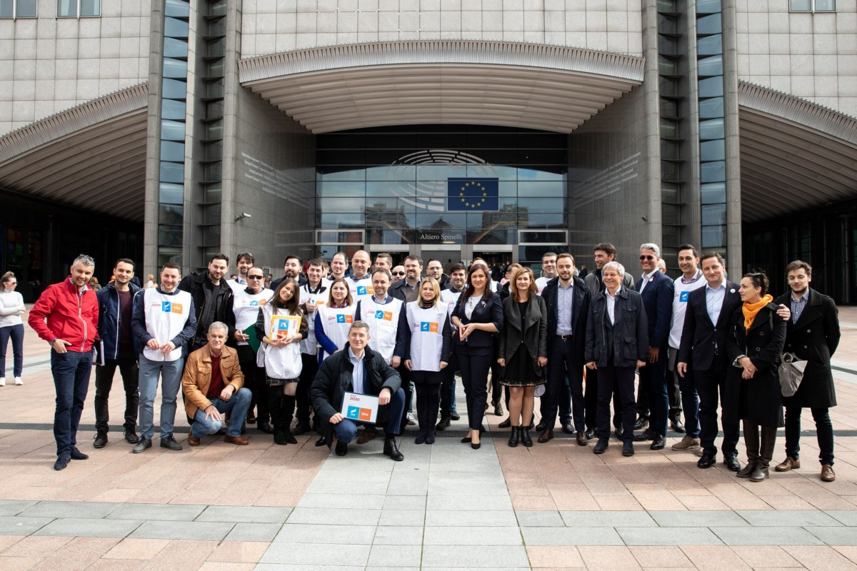 Alianța 2020 USR PLUS a lansat oferta electorală pentru alegerile europarlamentare din 26 mai