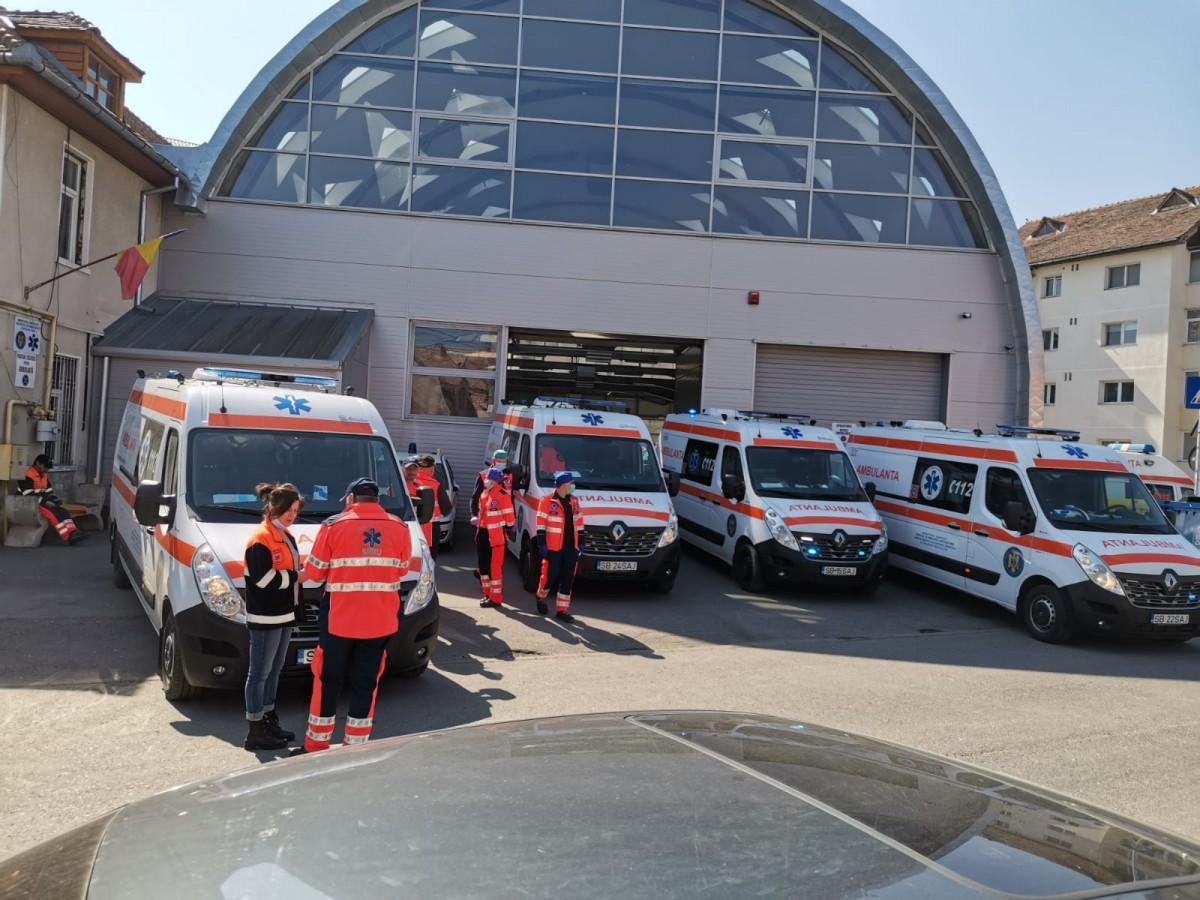 VIDEO Doliu la Serviciul de Ambulanță Sibiu, pentru ambulanțierul decedat la Suceava