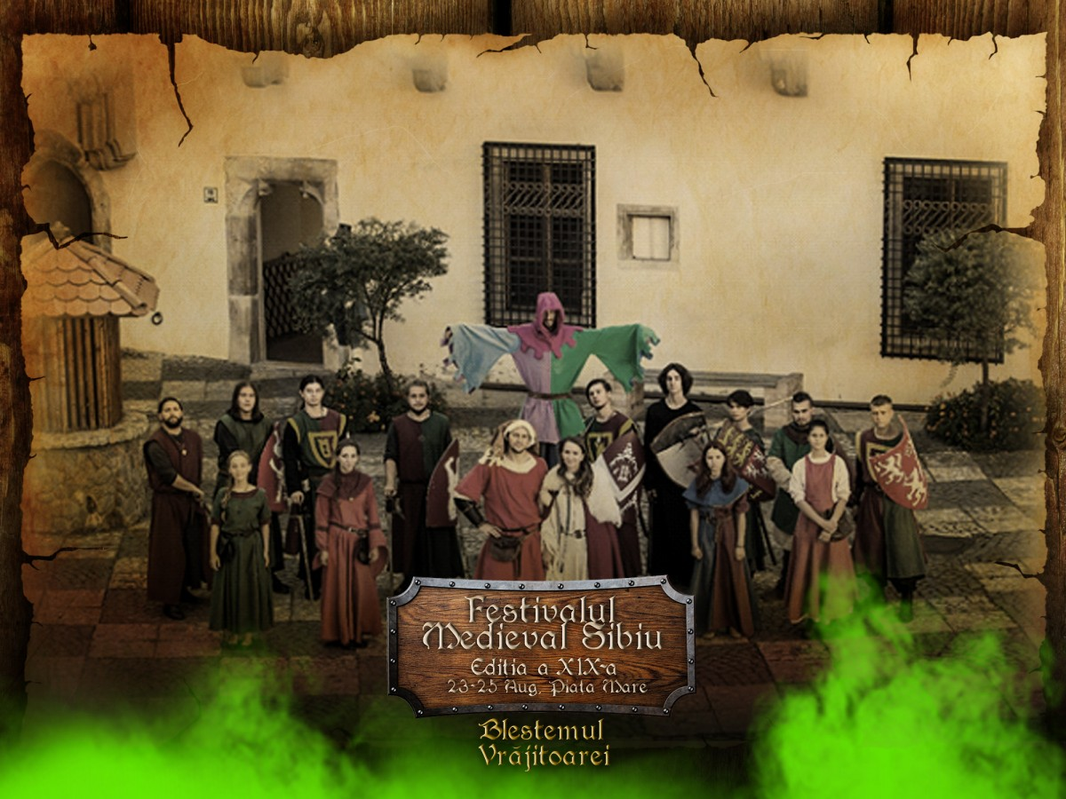 """Program incitant la Festivalul Medieval """"Cetăți Transilvane"""" – Peste trei sute de artiști vin la Sibiu"""