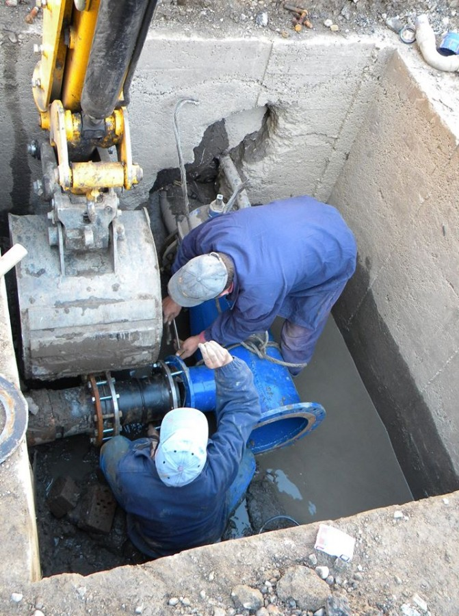 Avarie la rețeaua de apă din Sibiu: un sfert din oraș afectat