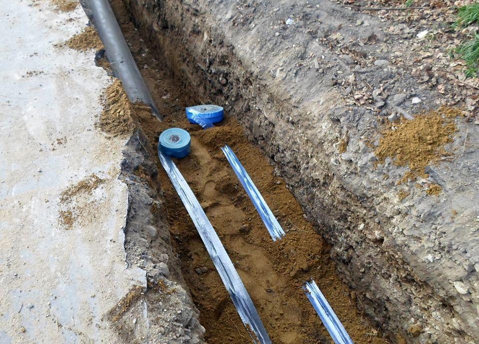 Cuplare conductă de apă potabilă pe strada Bradului