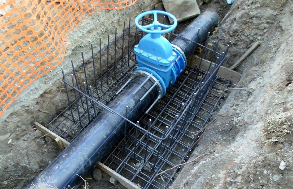 Cuplare conductă de apă potabilă în str. Luptei