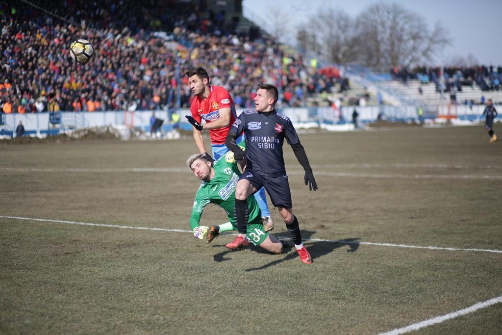 Salvarea de la retrogradare primează. FC Hermannstadt odihnește câțiva jucători în meciul de cupă cu FCSB