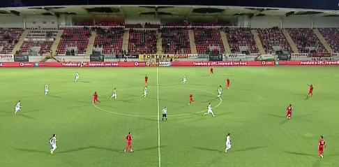 FC Hermannstadt se întoarce cu un punct miraculos de la Giurgiu