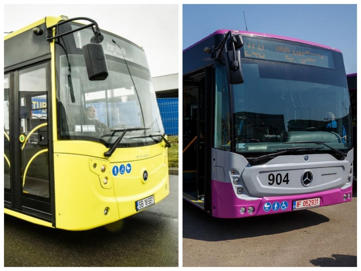 Comparație. Cum a cumpărat Sibiul autobuze BMC în 457 de zile. Iar Clujul - Mercedes Benz, în 69 de zile