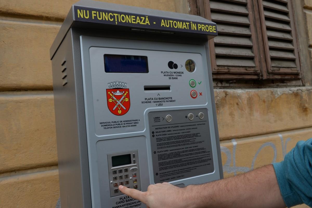 Primăria Sibiu acordă gratuitate personalului medico-sanitar pentru parcarea în locurile publice