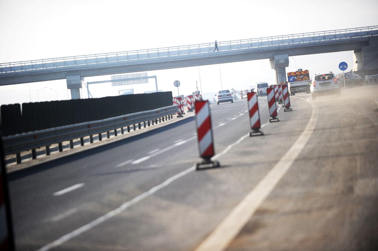 Lucrări de asfaltare pe A1, între Sibiu și Săliște