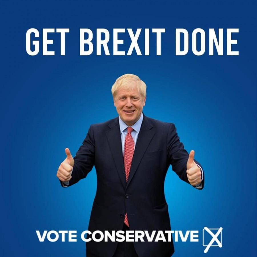 Boris Johnson a obţinut majoritatea în Parlamentul britanic.