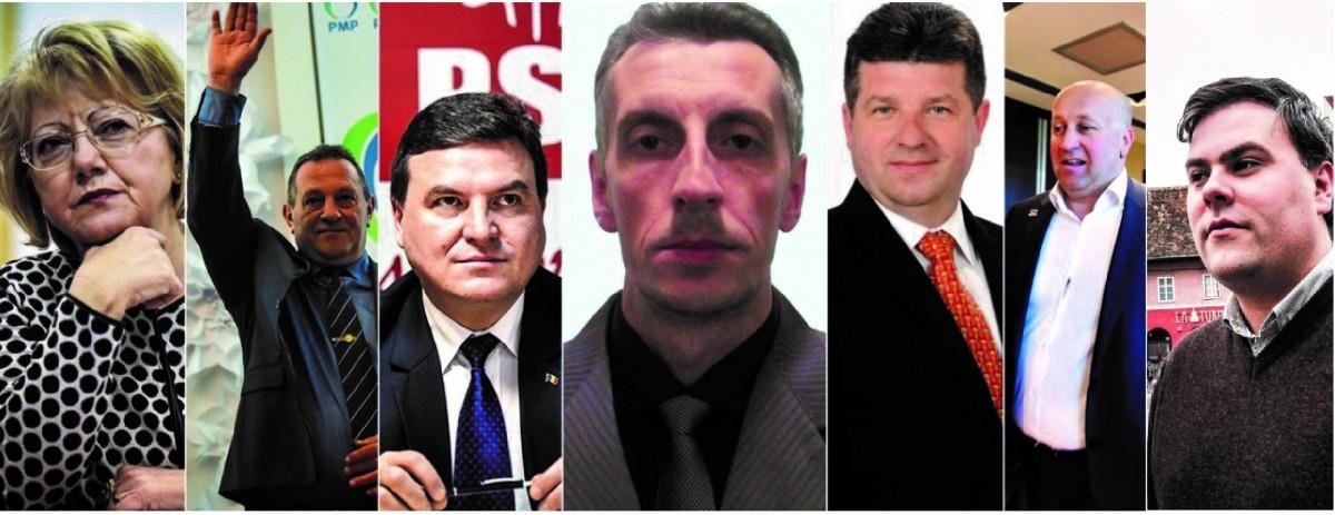 7 pentru Sibiu. Cei care vor fotoliul lui Iohannis