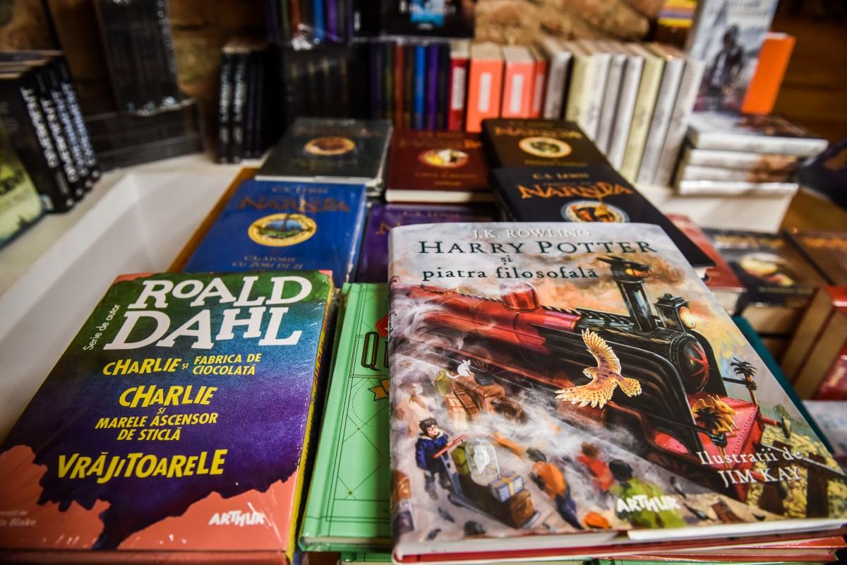 Cărțile copilăriei de astăzi.Topul celor mai bine vândute titluri, în Sibiu