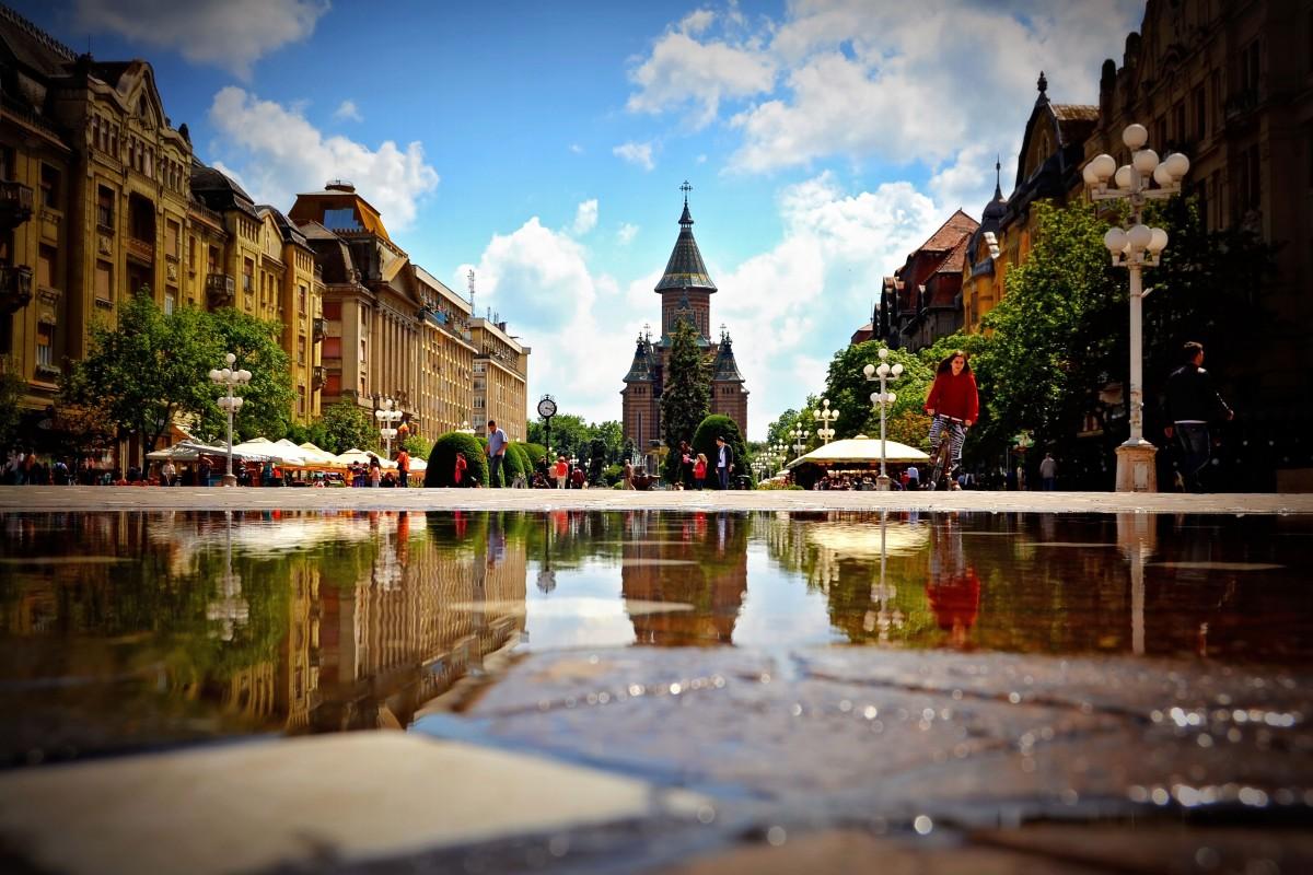 Timișoara esteCapitală Culturală Europeană 2021