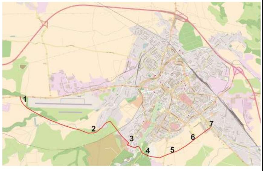 Centura de sud a Sibiului: CJ scoate la licitație studiul de prefezabilitate