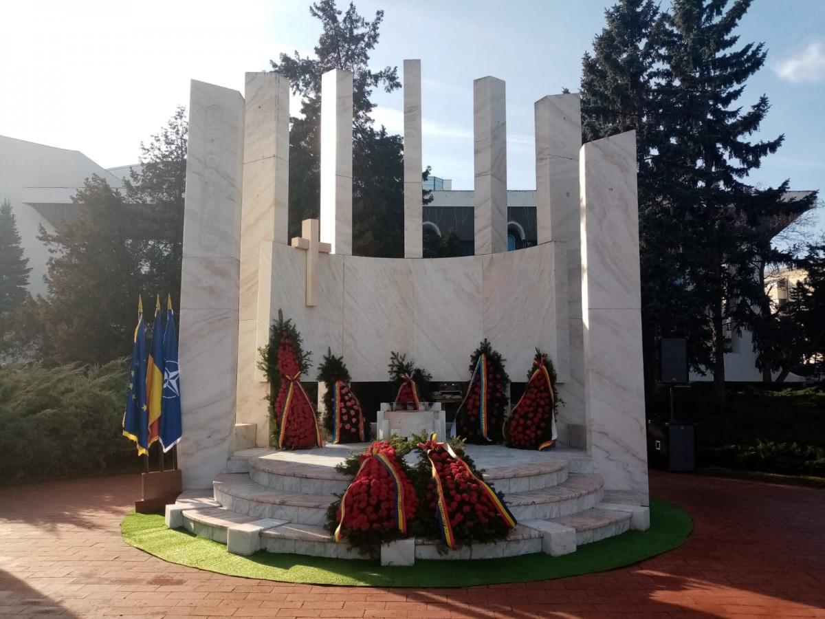 """Video. Ceremoniile de comemorare a eroilor Revoluției. """"Tot ceea ce am realizat noi azi, le datorăm lor"""""""