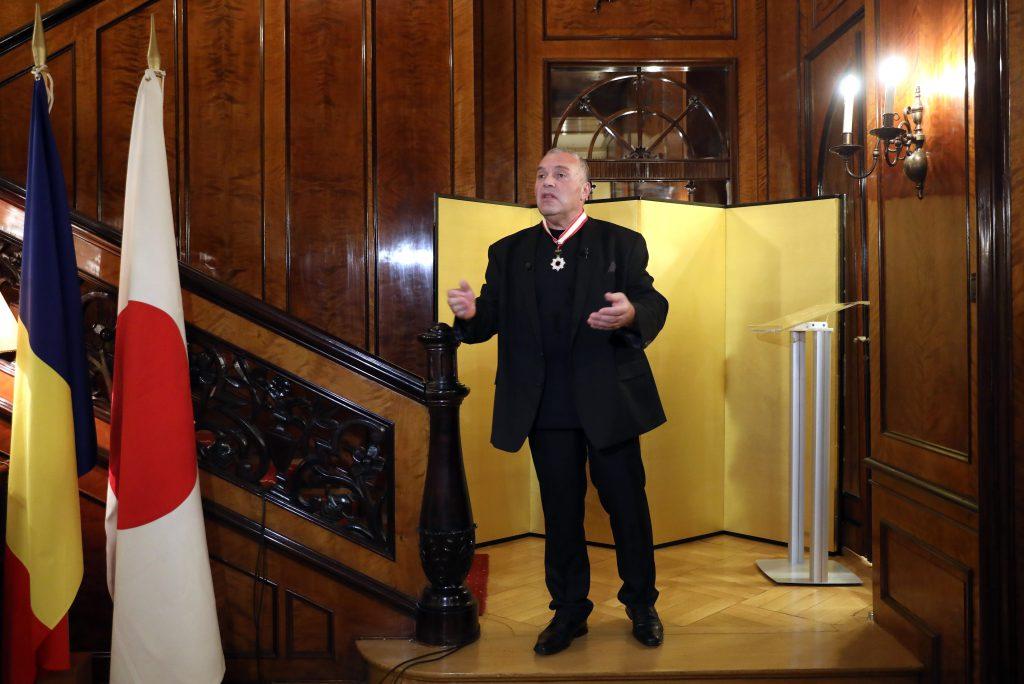 Constantin Chiriac a primit Ordinul Soarelui Răsare