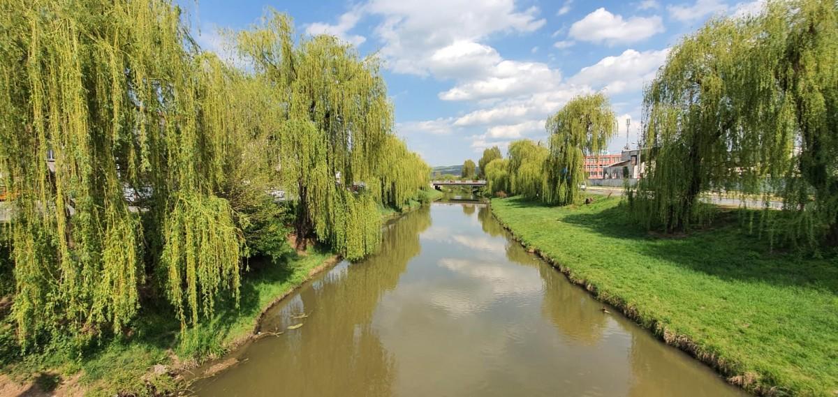 Primăria Sibiu curăță cursurile apelor din oraș