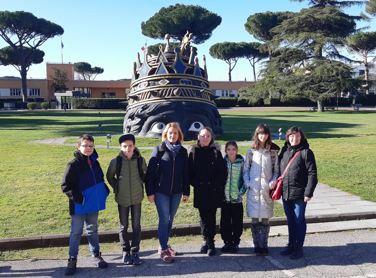 Elevi ai Colegiului Național Gheorghe Lazăr din Sibiu au plecat cu Erasmus+ în Italia