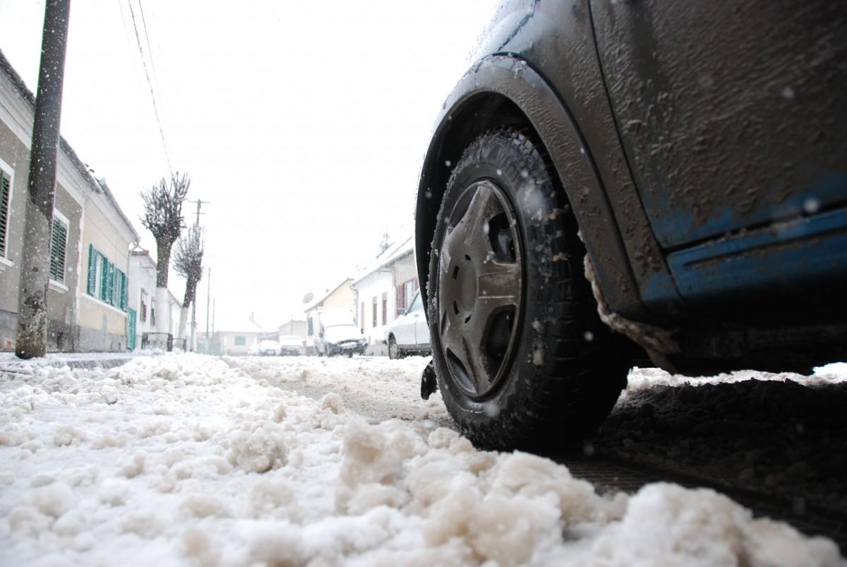 Sudul județului Sibiu, sub cod galben de vânt și ninsoare
