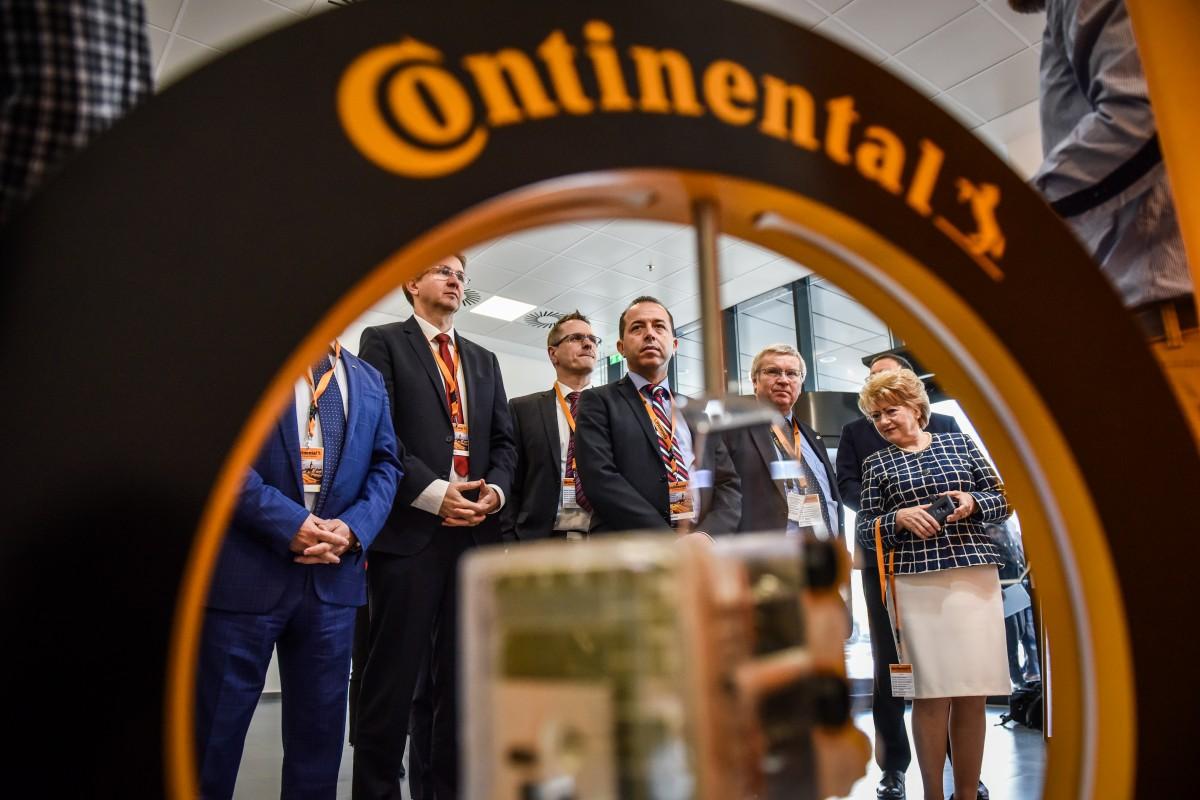 GALERIE FOTO-Continental a inaugurat la Sibiu o investiție nouă, în valoare de 32 mil. de euro