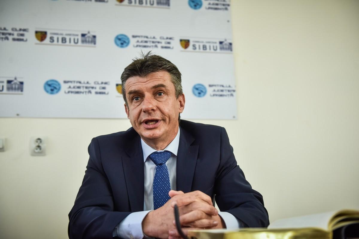 Managerul Spitalului Județean Sibiu despre demisiile din ultimele luni:A fost pur și simplu o coincidență