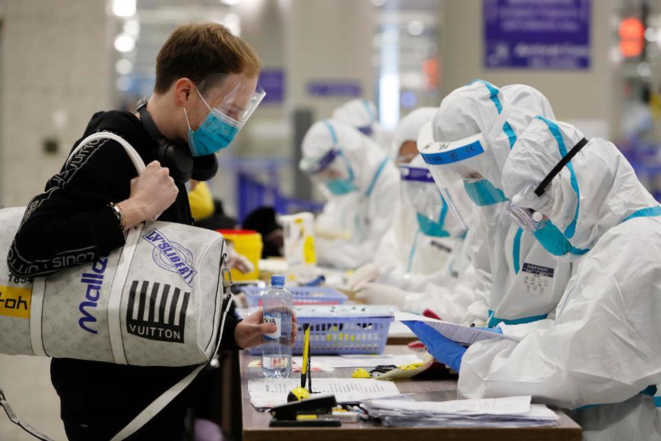 A treia zi fără niciun caz local de infectare cu coronavirus,în China. 41 de cazuri importate