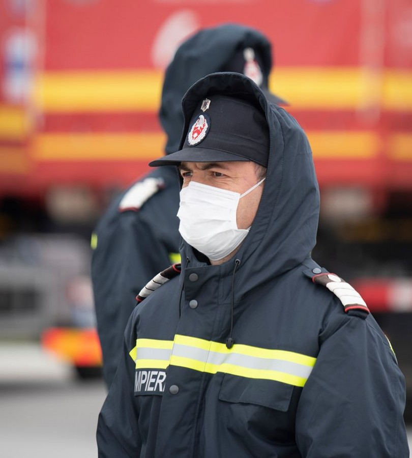 De Paște, pompierii au avut cu 40% mai puține intervenții față de anul trecut
