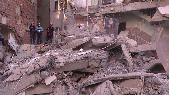 Cutremur devastator în estul Turciei. Sunt zeci de morți și peste o mie de răniți