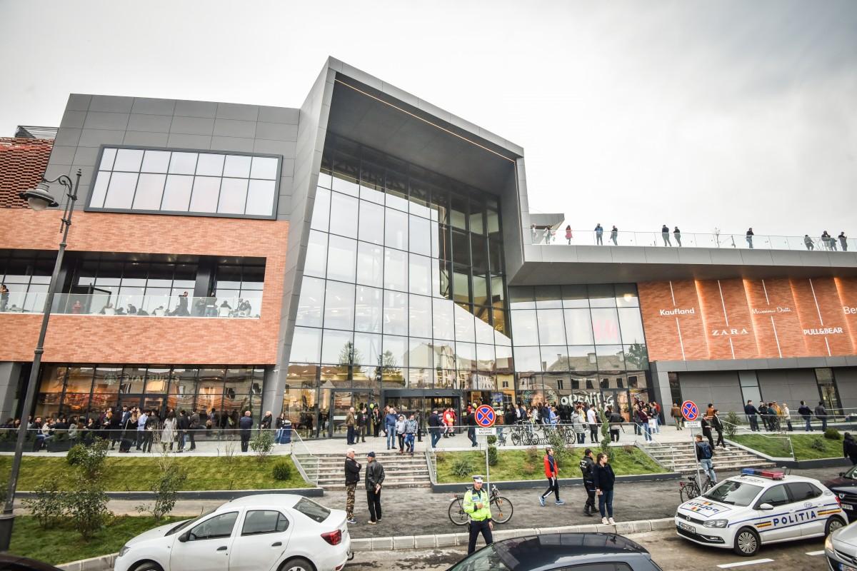 ISU Sibiu a emis autorizația de securitate la incendiu pentru noul mall