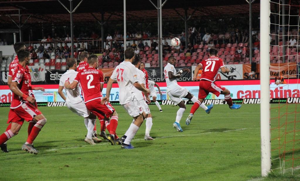 Începe play-out-ul! Hermannstadt joacă primul meci cu vecina de clasament