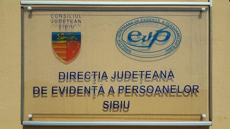 Direcţia de Evidenţă a Persoanelor Sibiu:se menține valabilitatea actelor de identitate care expiră pe perioada stării de urgență