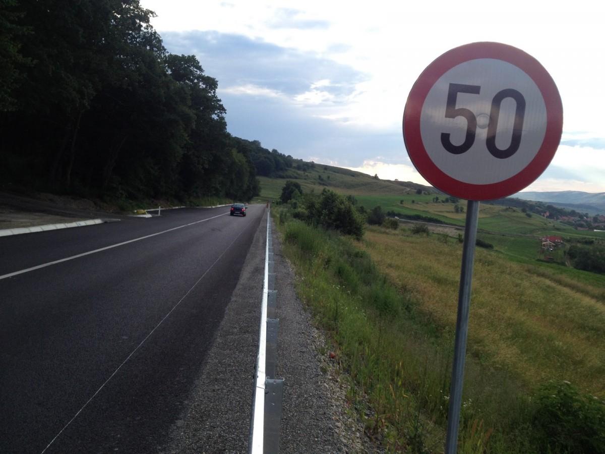 Propunere: restricții de viteză pe drumurile sibiene traversate de animalele sălbatice