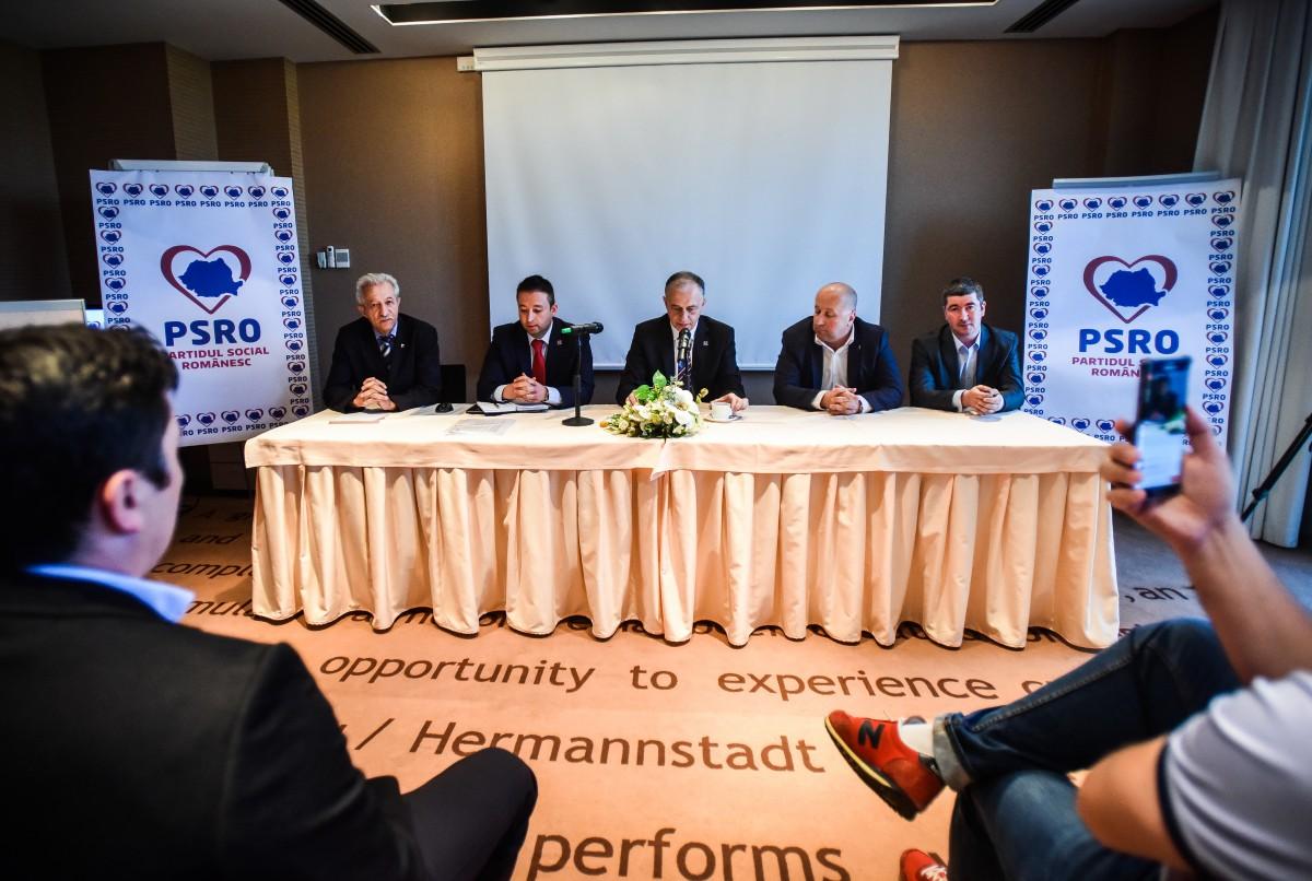 PSRO Sibiu și-a prezentat candidații la alegerile locale. Pițu și Borcan, lansați de Geoană