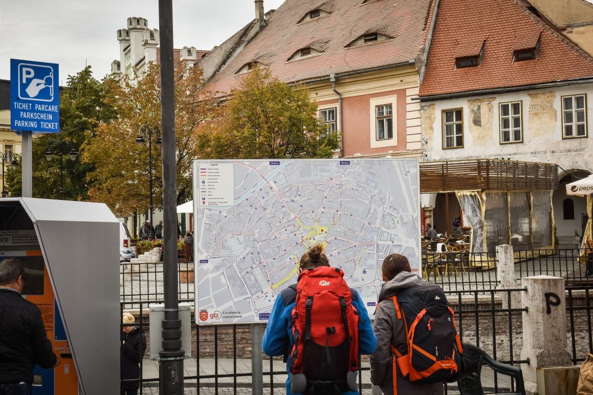 Statistică: Sibiul a fost vizitat vara aceasta de mai puțin de 200.000 de turiști. Și Mureșul a avut mai mulți