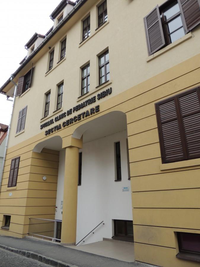 Măsuri speciale și la Spitalul de Pediatrie Sibiu