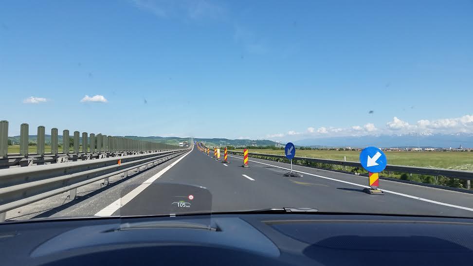 Circulație restricționată pe autostrada A1