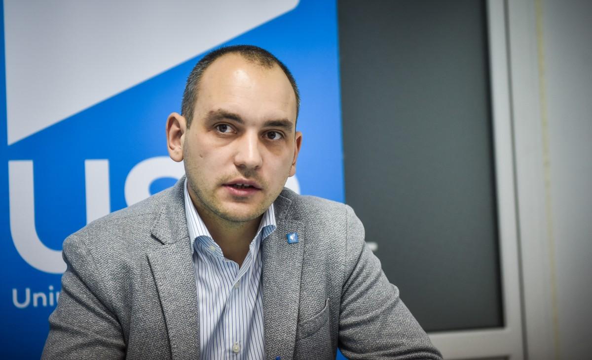 USR Sibiu: Adrian Echert va candida pentru președinția Consiliului Județean