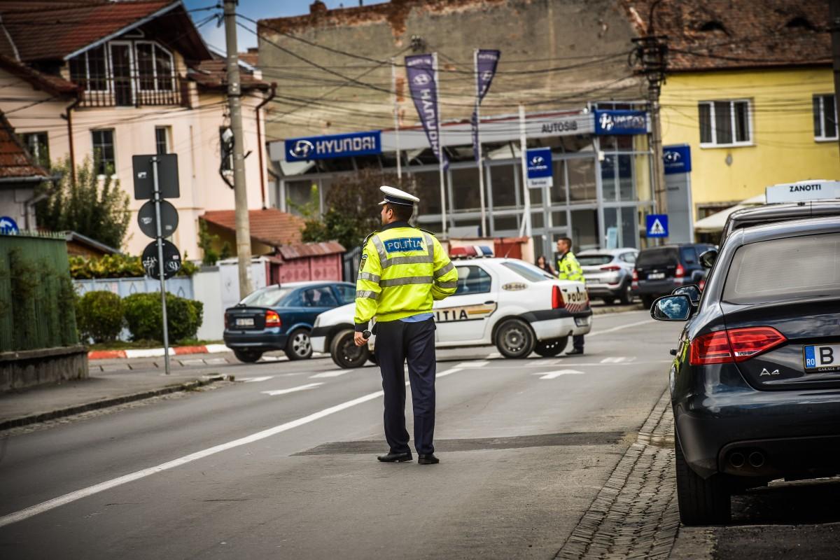 Infracțiunile rutiere în ultimeletrei zile, la Sibiu: la jumătate față de weekend-ul precedent