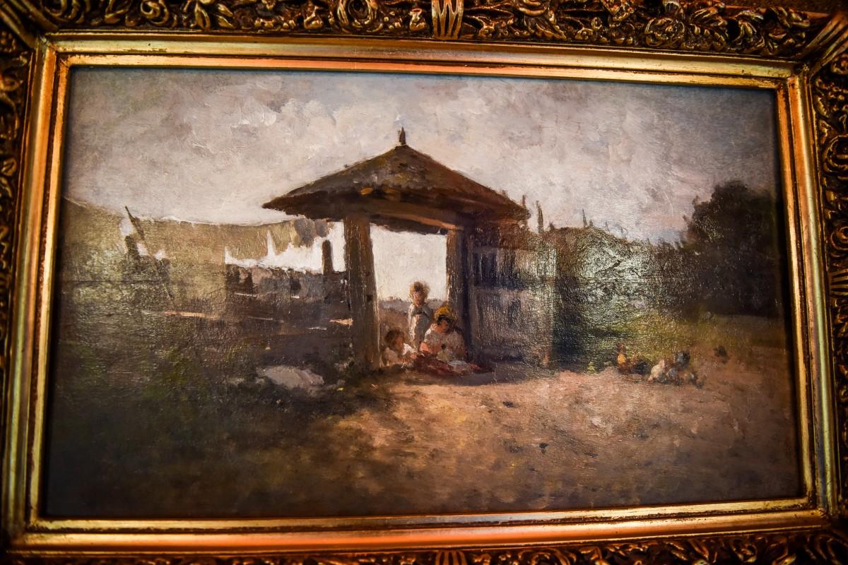 """Expoziția """"Tablouri în libertate"""" aduce la Sibiu un tablou de Grigorescu evaluat la 45.000 de euro"""