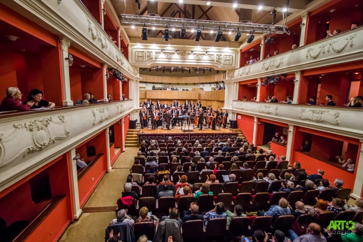 Halloween la Filarmonica de Stat cu concert Beethoven și lansare de carte