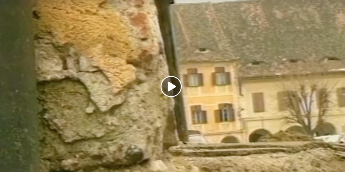 """VIDEO Sibiul din urmă cu 20 de ani. """"Era haos"""""""