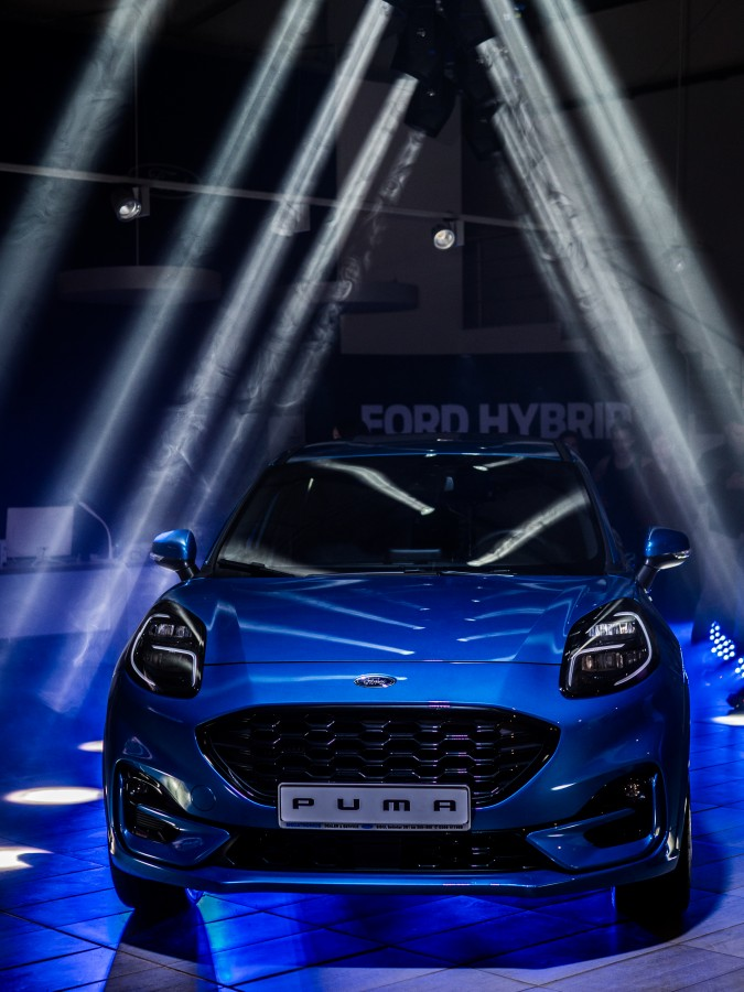 FOTO-VIDEO Ford Mecatronics Sibiu a lansat noul Ford Puma