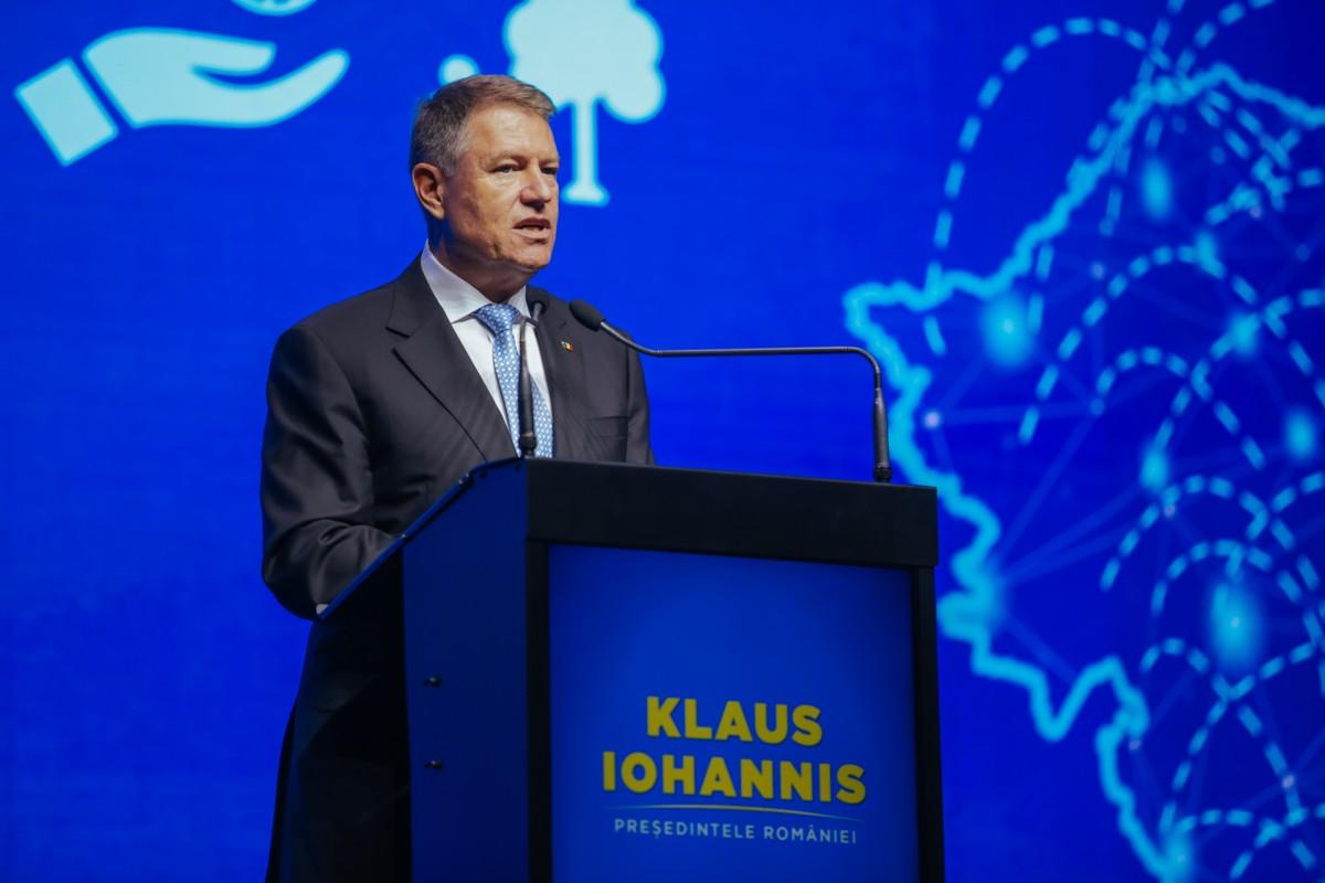 """Klaus Iohannis: """"PSD este adânc înșurubat în toate structurile statului. Resetarea statului român - deschiderea căii spre România Normală"""""""