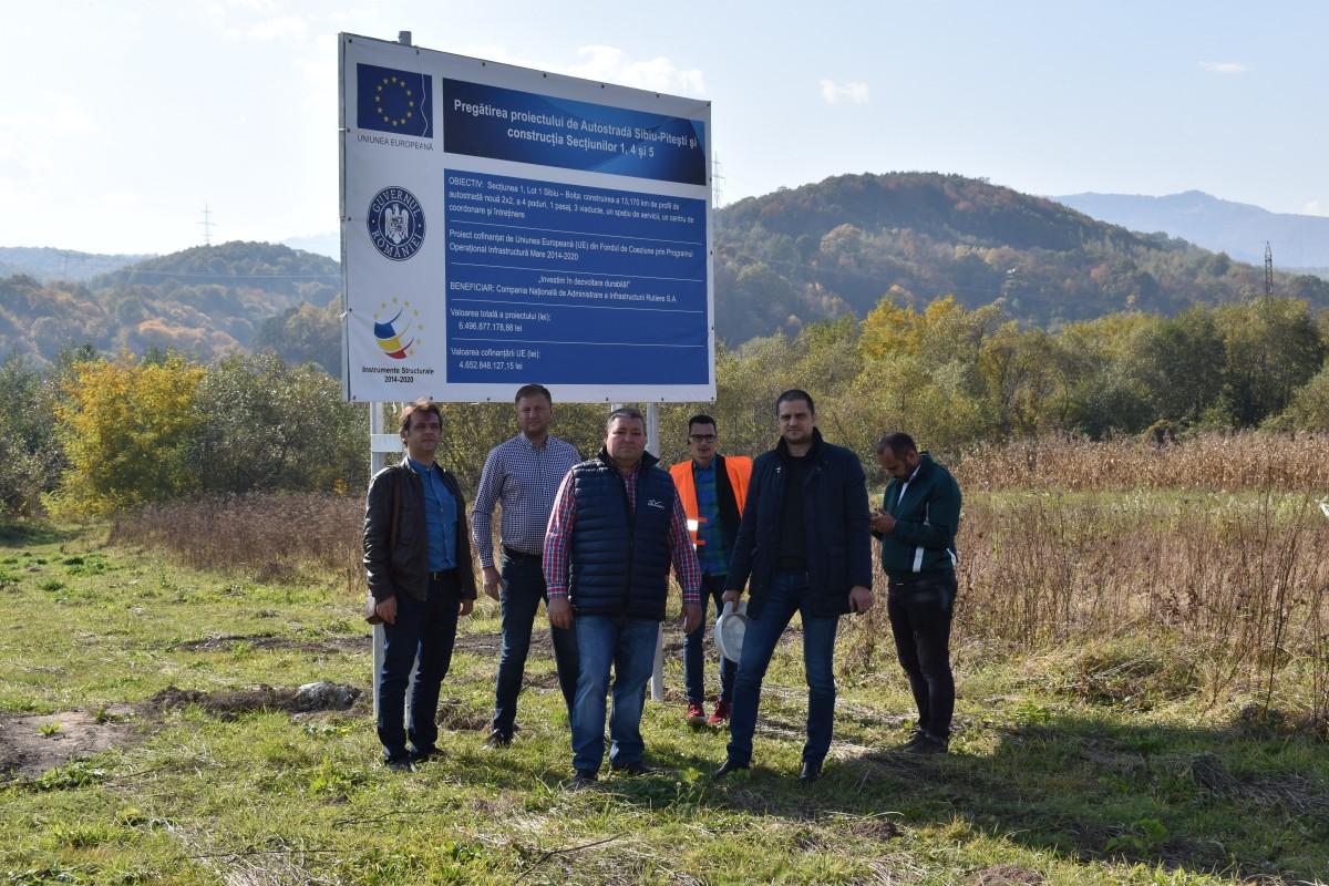 PSD Sibiu: Au început lucrările la autostrada Sibiu-Pitești!