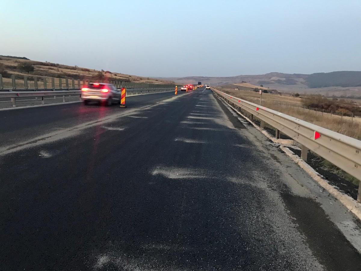 Nicio ofertă pentru remedierea denivelărilor de pe Autostrada A1 din zona Aciliu