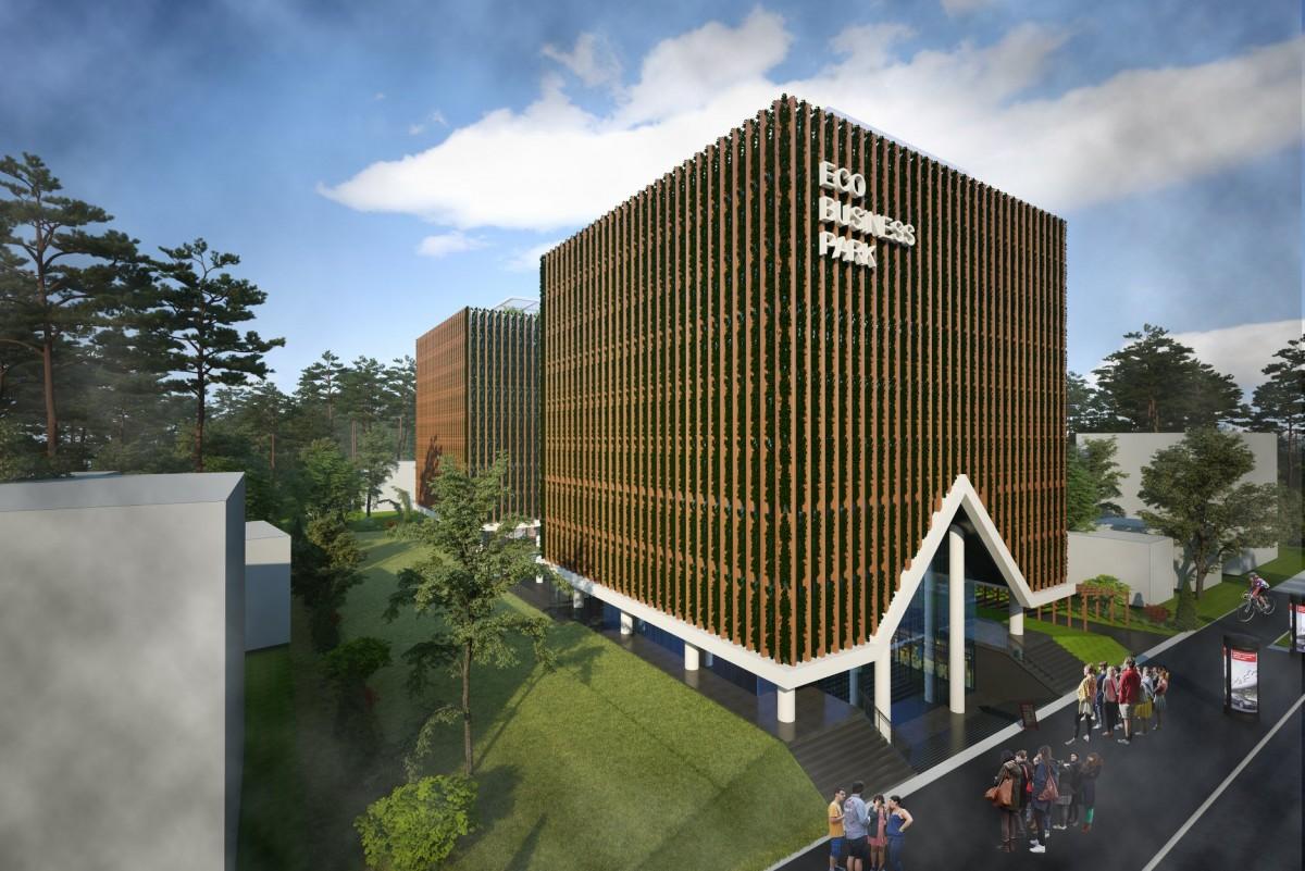 Proiect al principalului dezvoltator din cartierul Arhitecților: două turnuri cu șase etaje și trei subsoluri lângă parcul Sub Arini