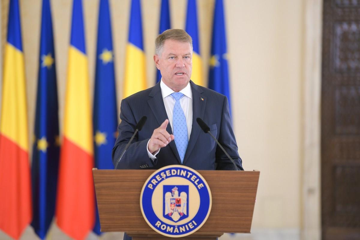 """Iohannis anunță dezbatere pentru săptămâna viitoare, fără Dăncilă. """"Nu pot să legitimez comportamentul mizerabil al PSD"""""""