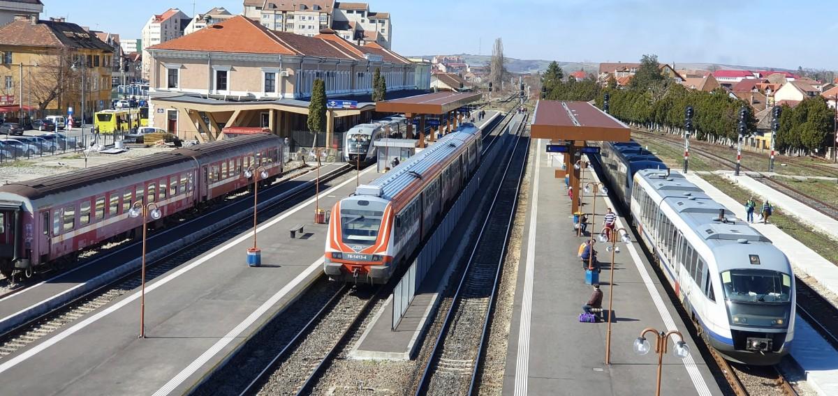 CFR suspendă circulația a două trenuri la Sibiu