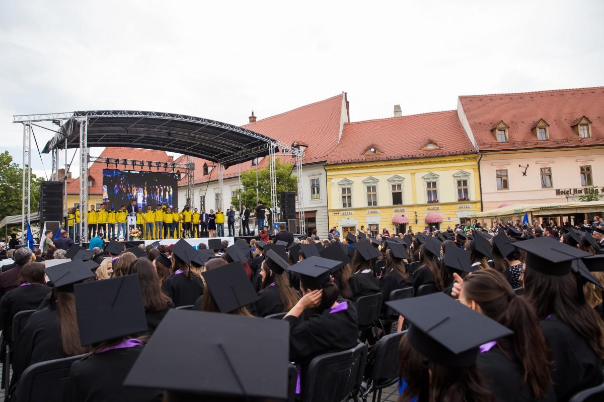 Învățământul superior sibian a pierdutdouă universități și o facultate în ultimii zece ani