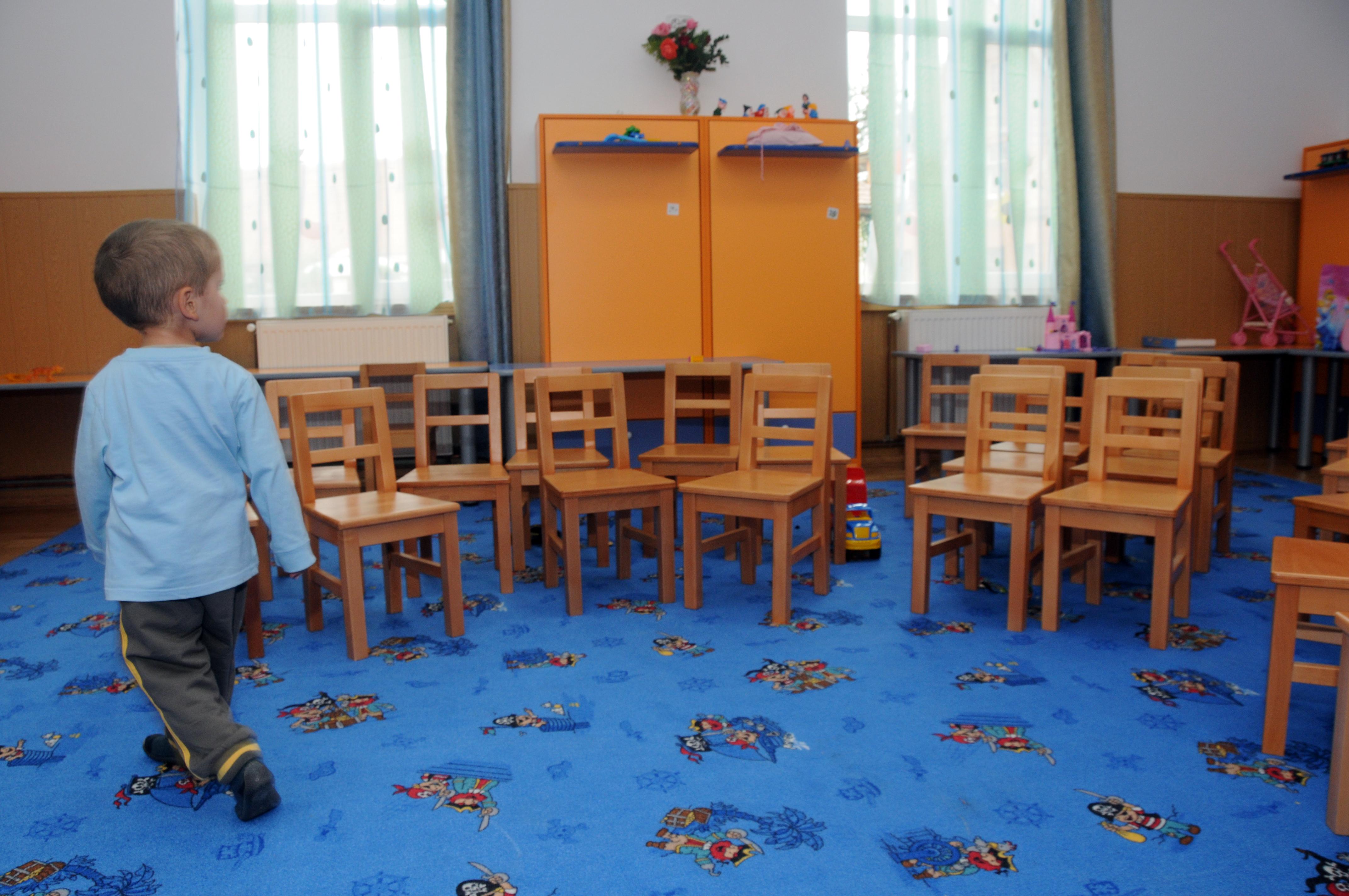 Cursuri suspendate în grădinițe în urma numărului mare de viroze