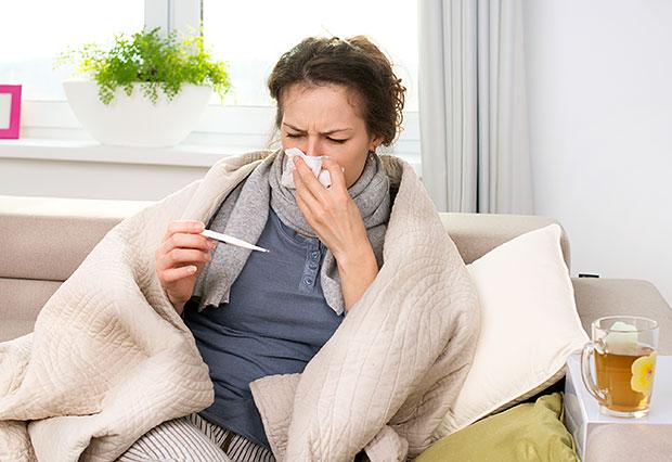Peste 800 de viroze respiratorii și 256 de cazuri de pneumonie la început de an