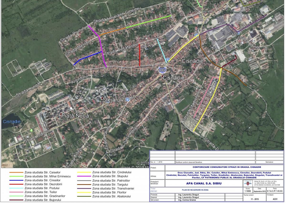 Cisnădie: rețeaua de apă va fi contorizată pentru toți consumatorii